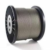 Rustfritt stål Wire Tau kabel